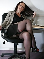 black cock white mature woman